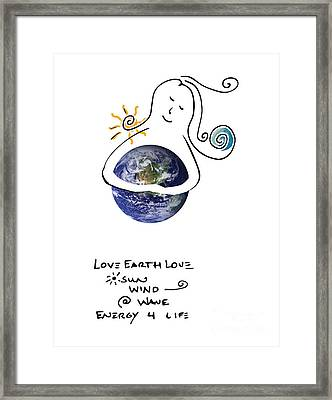 Earthhugger Framed Print