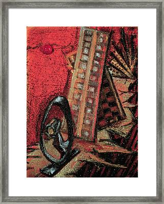 Earthquake Framed Print by Ione Citrin