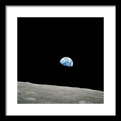 Planet Framed Prints