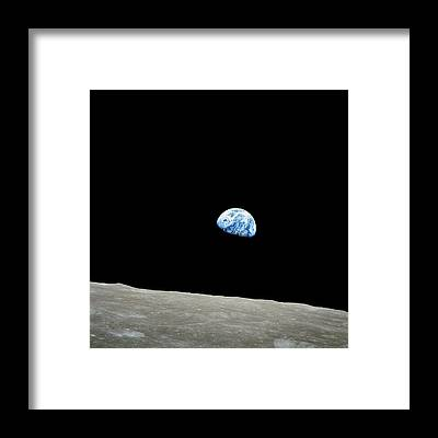 Earth Framed Prints
