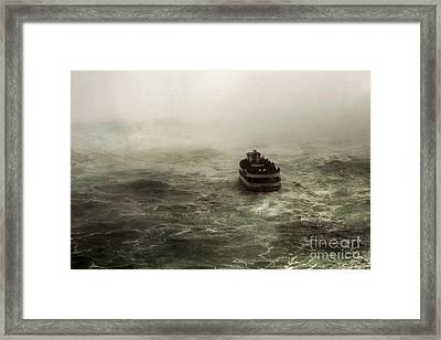 Earths Edge Framed Print by Jan Piller