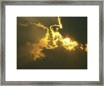 Earthy Veiw One Framed Print