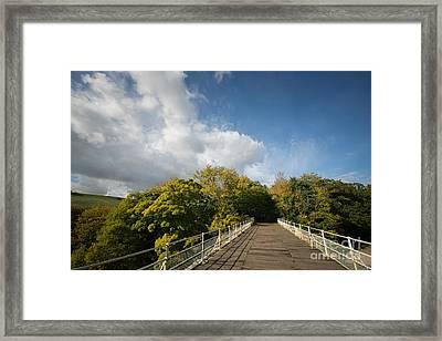Easby Skies Framed Print