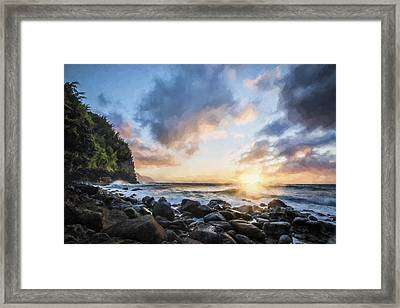 Ease In My Eyes II Framed Print