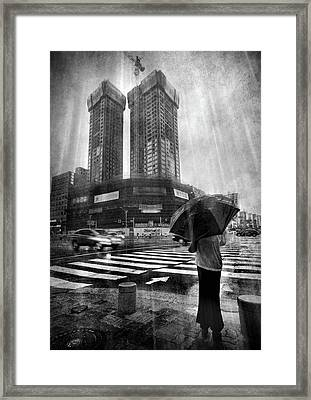 East Asian Monsoon Framed Print