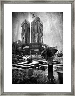 East Asian Monsoon Framed Print by Ioannis Lelakis