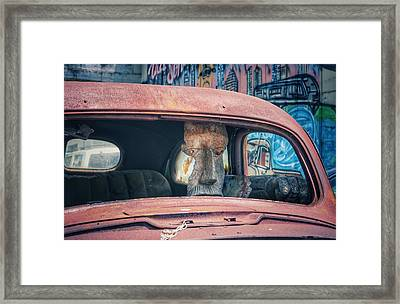 Eastside Golem Framed Print