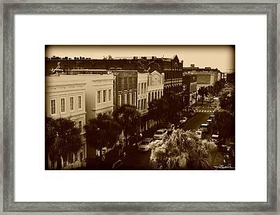 East Bay Street Framed Print by Melissa Wyatt