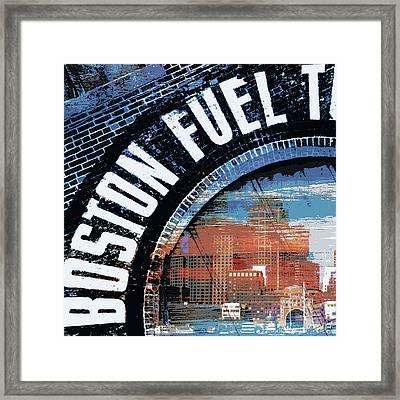 East Boston Framed Print by Brandi Fitzgerald