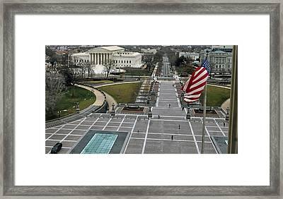 East Capitol Street Framed Print