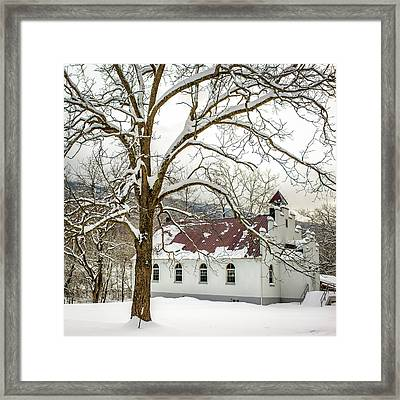 East Chapel Church Framed Print