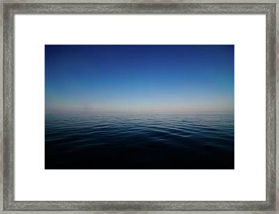 East China Sea Framed Print by I enjoy taking photos and traveling the world.