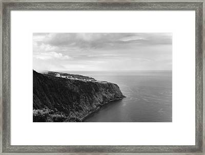 East Coast - Sao Miguel-azores Framed Print by Henry Krauzyk