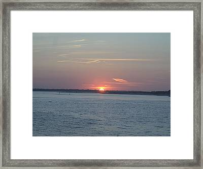 Framed Print featuring the photograph East Cut by Newwwman