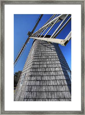 East Hampton Windmill Framed Print