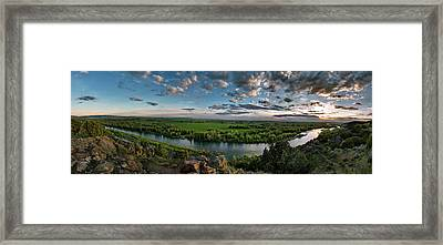 East Idaho View Framed Print by Leland D Howard