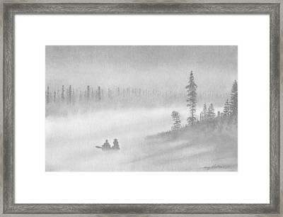 East Inlet Framed Print