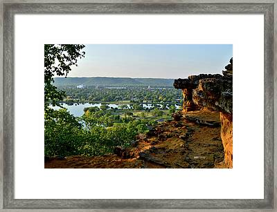 East Lake Winona Framed Print