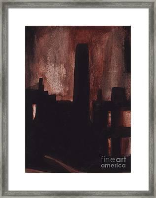 East Newark Framed Print