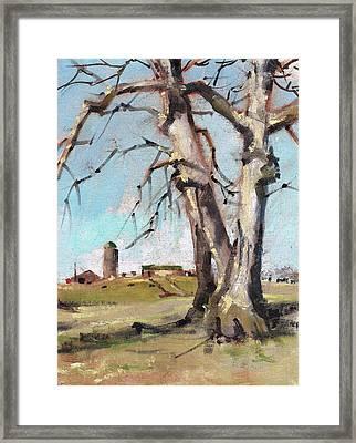 East Of Farraway Framed Print