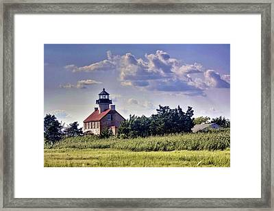 East Point Light House Framed Print by Kevin  Sherf