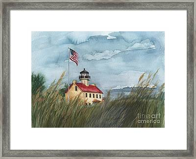 East Point Lighthouse Framed Print