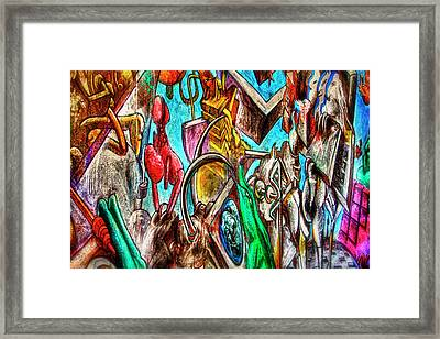 East Side Gallery Framed Print by Joan Carroll