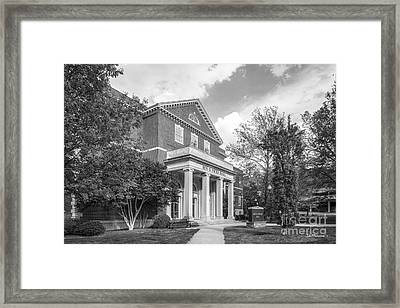 East Tennessee State University Nicks Hall Framed Print