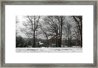 East Tennessee Winter Framed Print by Todd A Blanchard