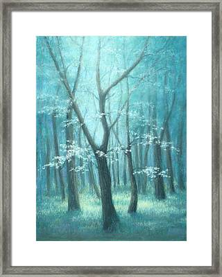 East Texas Dogwood Tree Framed Print