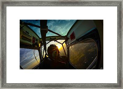 East Towards The Dawn Framed Print