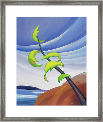 East Wind Framed Print