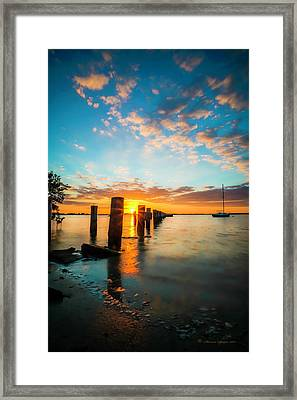 East Wind Framed Print