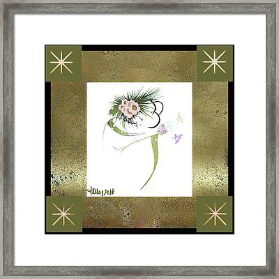 East Wind - Small Gathering Framed Print