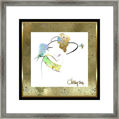 East Wind - The Rival Framed Print