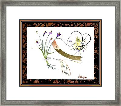 East Wind - Unexpected Caller Framed Print
