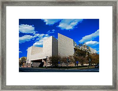 East Wing Of The National Gallery Of Art Framed Print