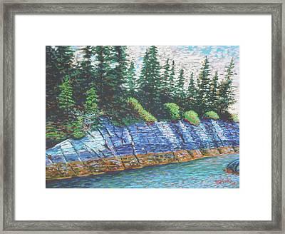 Eastbay Cut Nova Scotia Framed Print