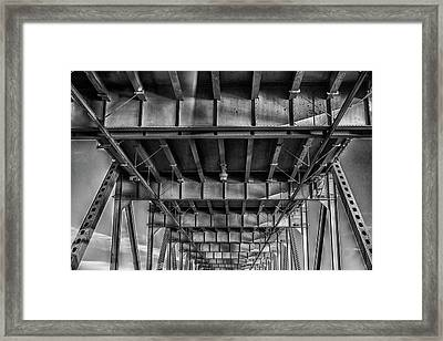 Eastbound And Down Framed Print by Marnie Patchett