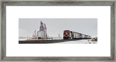 Eastbound Empties Framed Print
