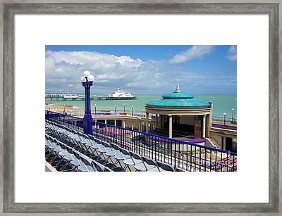 Eastbourne Art Deco Bandstand Framed Print by Donald Davis