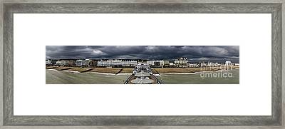 Eastbourne Panorama Framed Print by Heiko Koehrer-Wagner