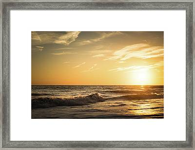 Eastcoast Sunset Framed Print by Ivo Kerssemakers