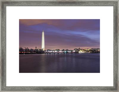 Framed Print featuring the photograph Easter Blues by Edward Kreis