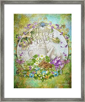 Easter Breakfast Framed Print by Mo T