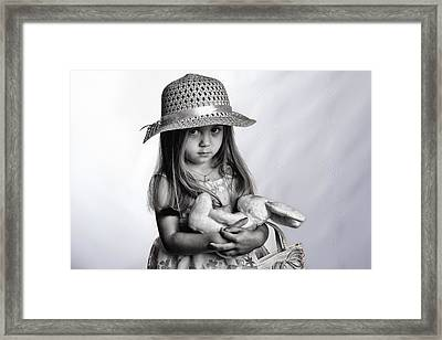 My Bunny Framed Print by Kevin Cable