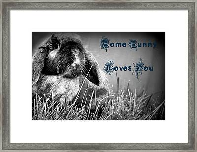 Easter Card Framed Print