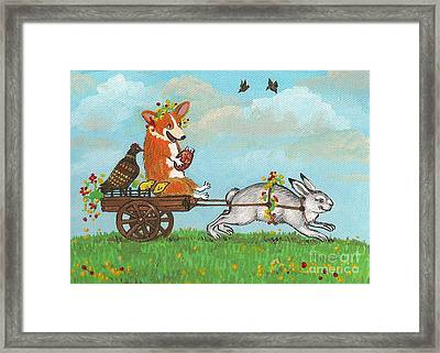 Easter Carriage Framed Print