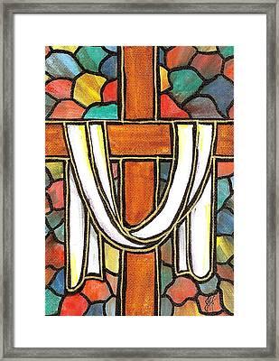 Easter Cross 6 Framed Print by Jim Harris