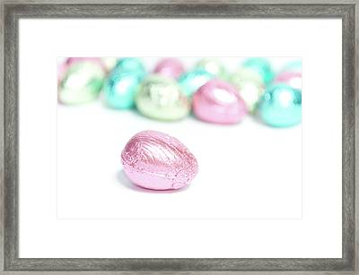 Easter Eggs II Framed Print